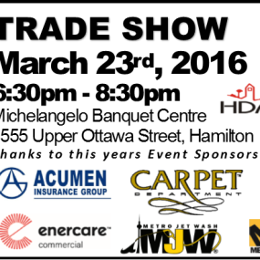 TRADE SHOW FOR APARTMENT BUILDING OWNERS AND MANAGERS